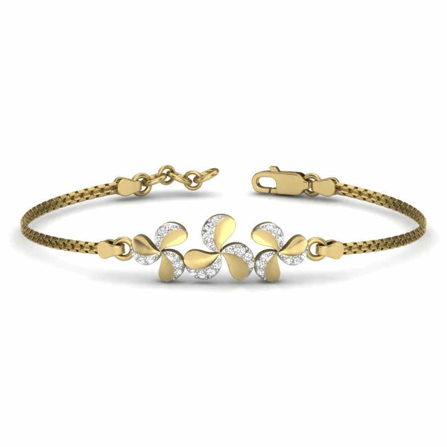 Floral and Charming Bangle