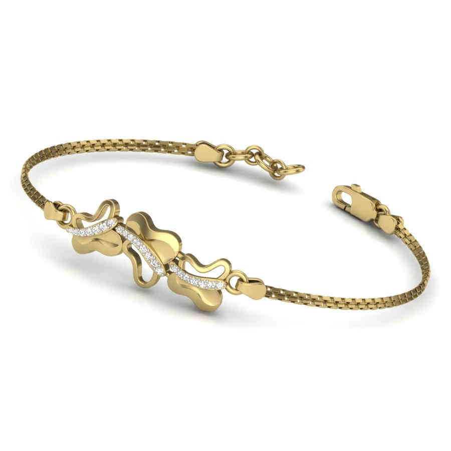 Alluring Butterflies Bangle