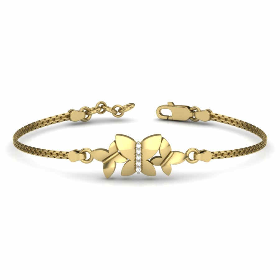 Bonded Butterfly Bangle