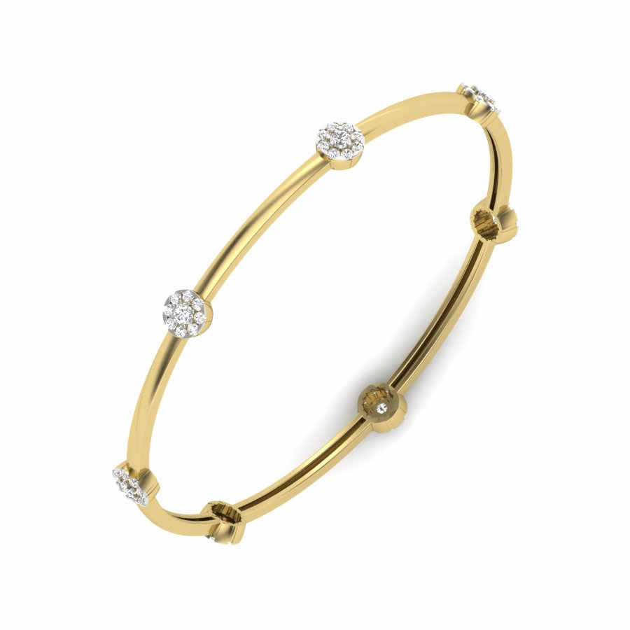 Love for 7 Flowers Bangle