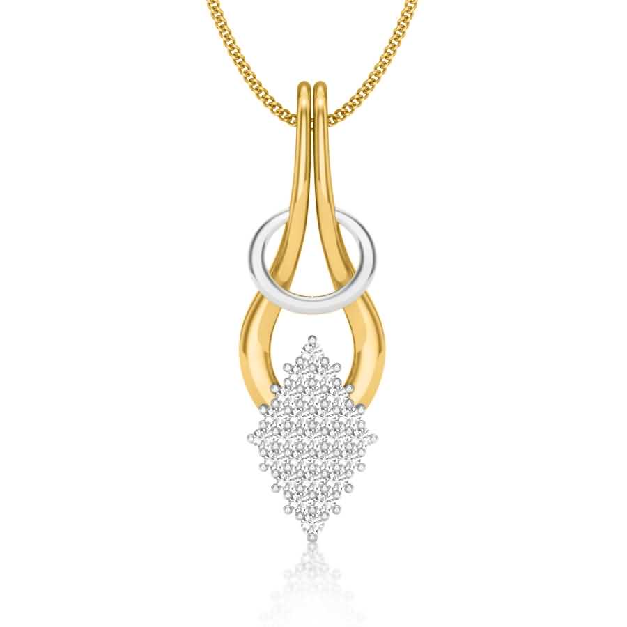 Fancy Look Diamond Pendant