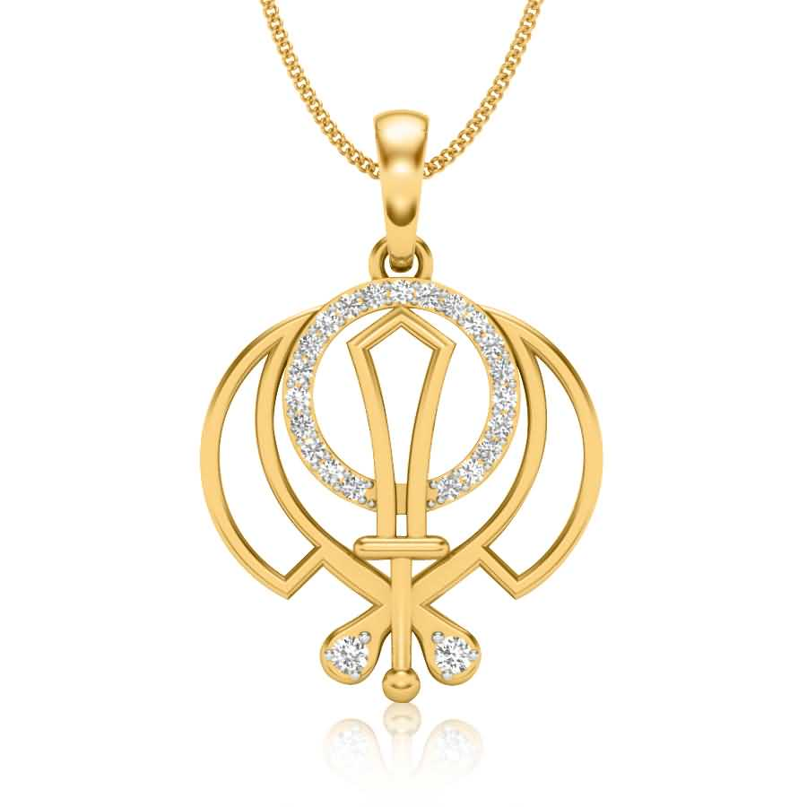 Kripan Diamond Pendant