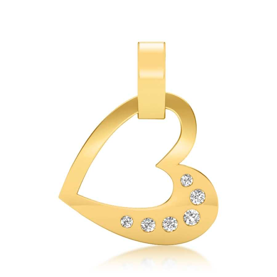 Six Love Diamond Pendant