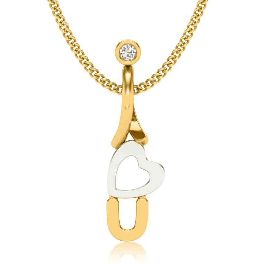 Love Style Diamond Pendant