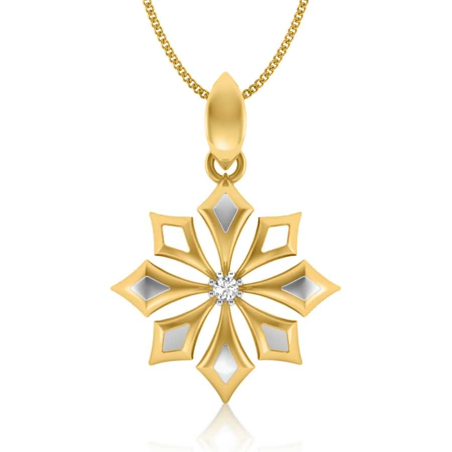 Magical Arrows Diamond Pendant