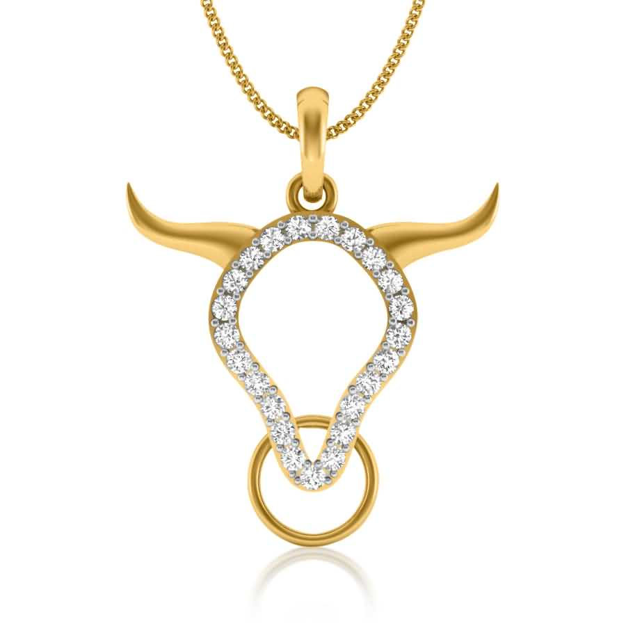 Splendid Ox Diamond Pendant