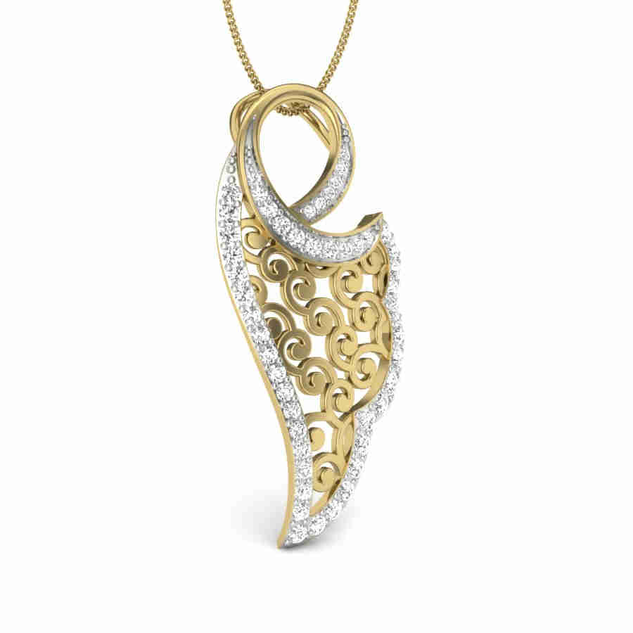 Gracious Diamond Pendant