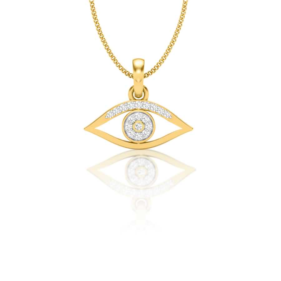 Magical Eye Diamond Pendant