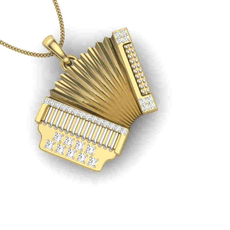 Heart 2 Heart Diamond Pendant