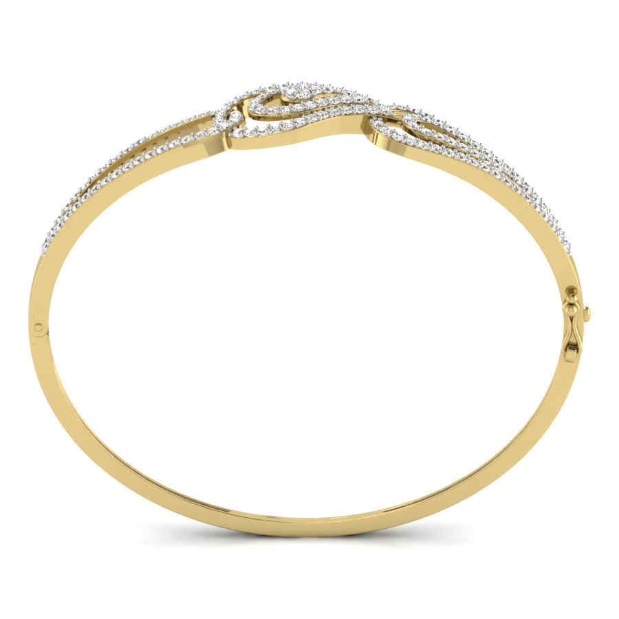 Sparkling Hearts Bangle